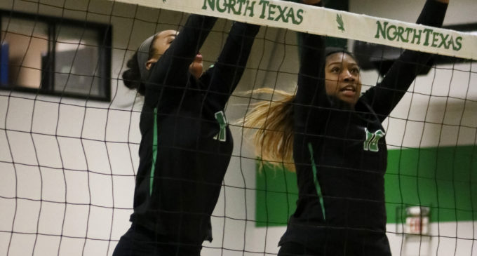 North Texas volleyball ends SFA Invitational with a victory