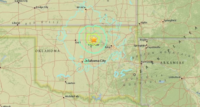 5.6-magnitude earthquake in Oklahoma rattles Denton