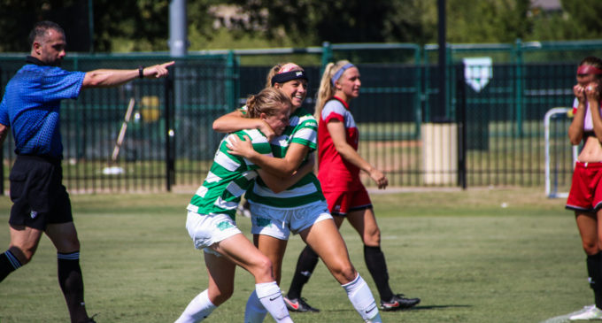 Physical defense leads soccer past Marshall in C-USA opener