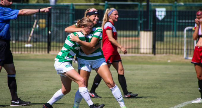 Mean Green soccer holds on to win physical contest against UAB