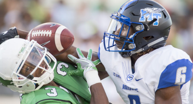 North Texas football falls to Middle Tennessee after hot start