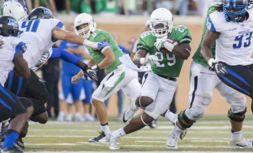 North Texas running back Willy Ivery no longer with football program
