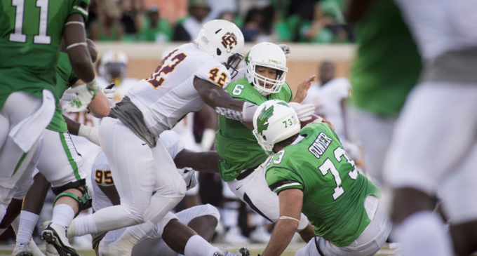 North Texas offensive line struggling to maintain consistency
