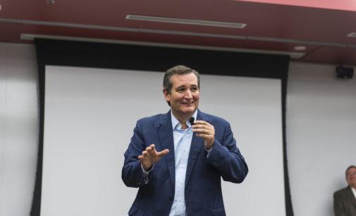 Sen. Ted Cruz was in Denton this past week