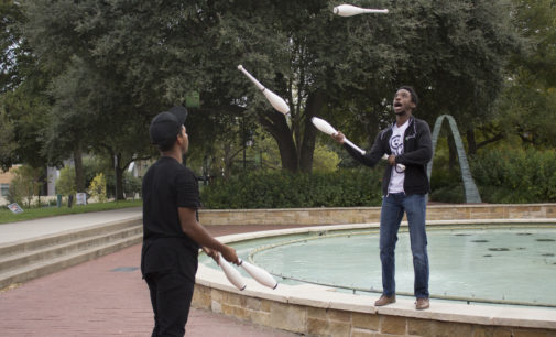 Juggling club provides students with a unique, creative outlet