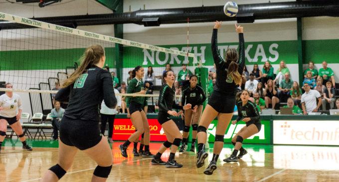 North Texas volleyball shuffling lineups as season draws to a close