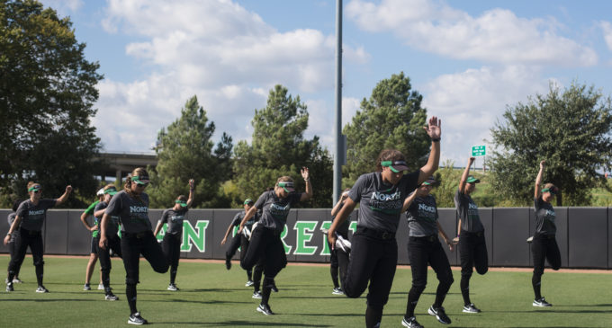 Mean Green softball evaluating talent and newcomers in fall play