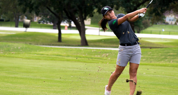 Women's golfer Sol Lee dazzling in first year with Mean Green