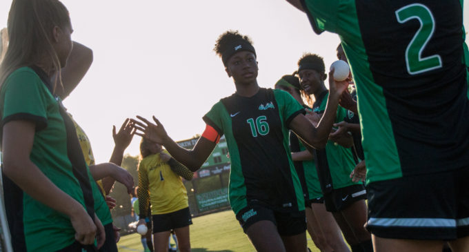 Rachel Holden pushing for perfect ending with North Texas soccer