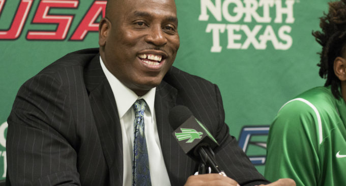 Men's basketball media day: Time to win is now for head coach Tony Benford and Mean Green