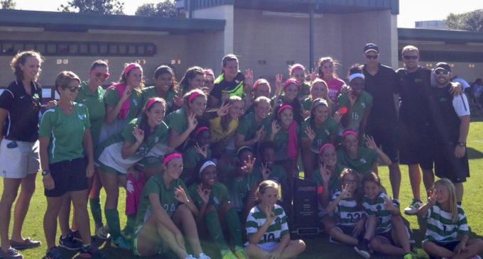 Mean Green soccer wins third straight regular season C-USA title