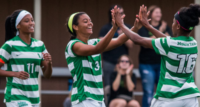 Mean Green soccer wins opening round thriller in extra time