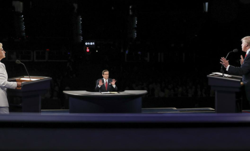 Third presidential debate reinforces candidates' positions, continues personal attacks