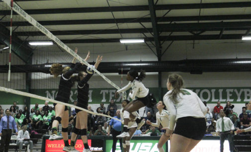Season ends for North Texas volleyball with loss in C-USA quarterfinals