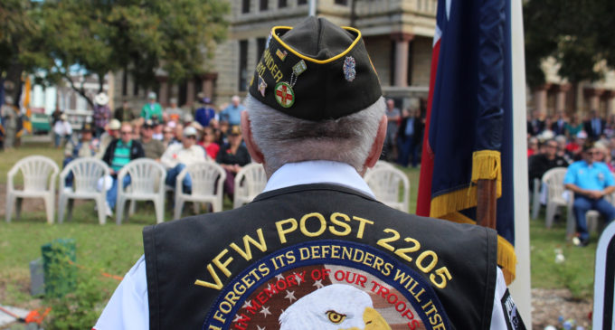 Denton Square hosts Veterans Day celebration