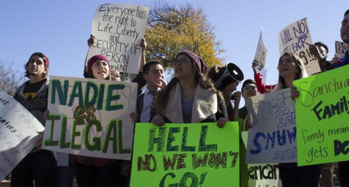 Students organize walkout to make UNT sanctuary campus; Smatresk says no