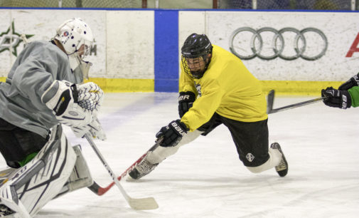 UNT club ice hockey staying optimistic despite difficult season