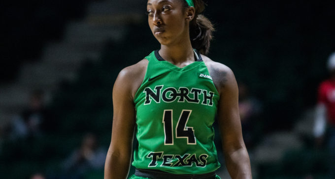 Candice Adams going out with a bang in final season at North Texas