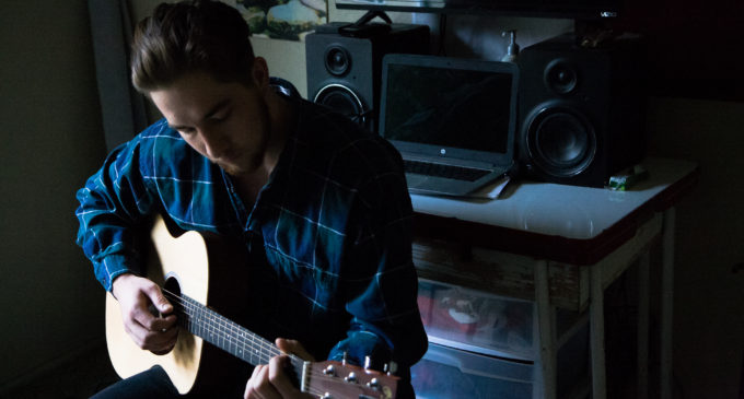 Denton musician puts school on hold in hopes of music career