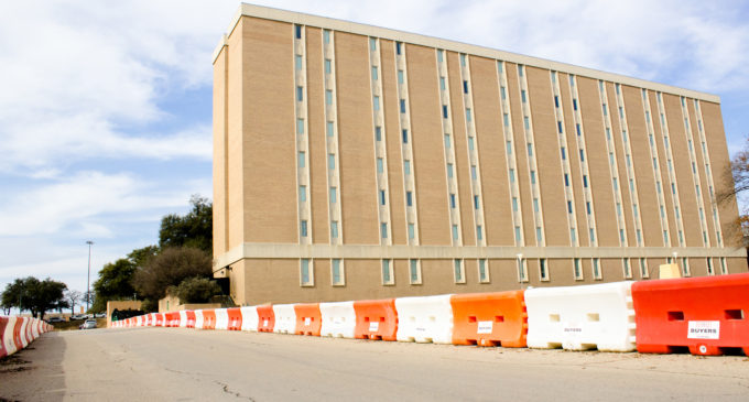 UNT removes more parking to build more buildings