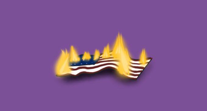 The argument for flag burning