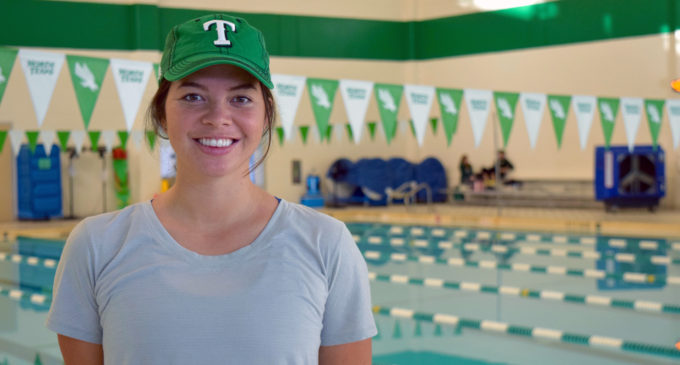 From athlete to coach; Rachel Friel gets her feet wet with the Mean Green