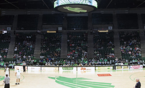 North Texas athletics department trying to revive men's basketball attendance