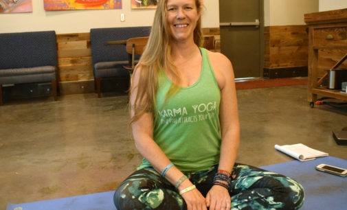 Karma Yoga instructor Jessica McReynolds finds solace in struggles