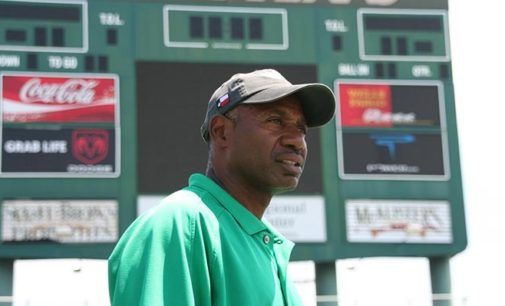 Head track and field coach Carl Sheffield continues to value hard work above all else