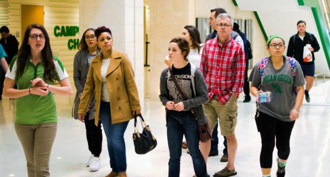 UNT enrollment slows down, diversity picks up