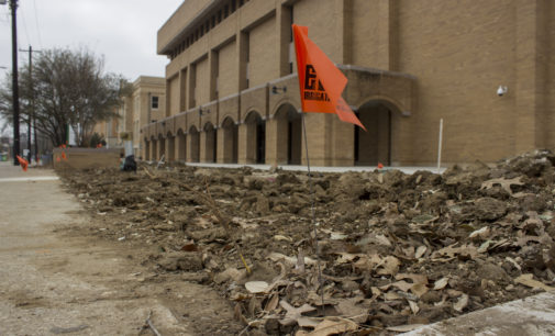 A quick guide to construction on campus in February