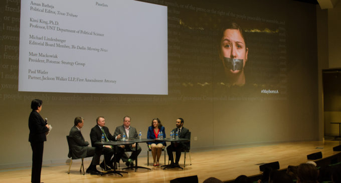 Panel event attempts to lessen concerns of journalism's future