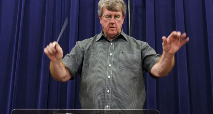 Band conductor takes on new meaning with train collection