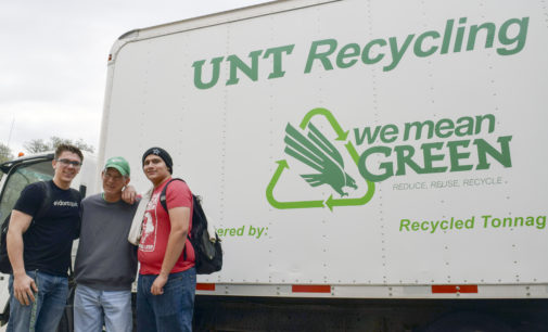 UNT campus recycling brings $20,000 in profits