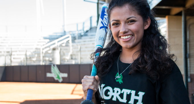 Walk-on outfielder Victoria Blagg living her dream with North Texas softball after tragedy