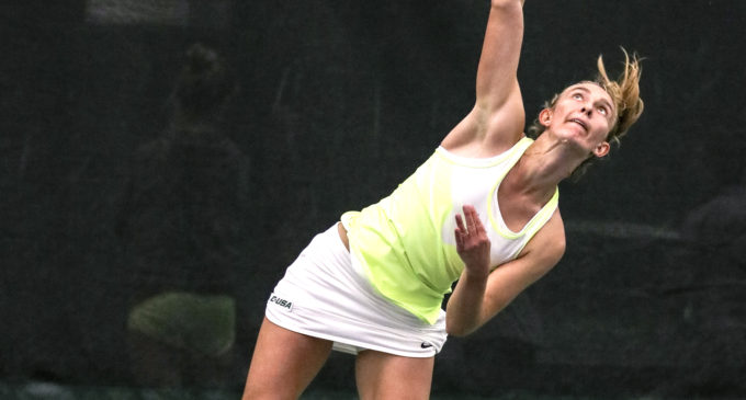 Home away from home: North Texas tennis team adjusting to life in Denton