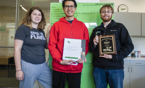 UNT students conquer logistics challenges in international competition