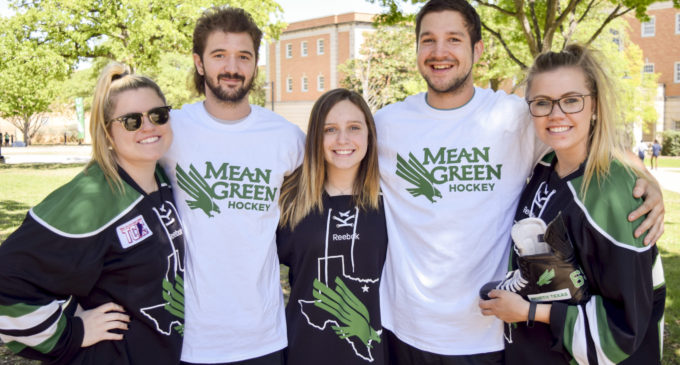 """UNT's Delta Gamma chapter tries to expand hockey through """"penny wars"""""""