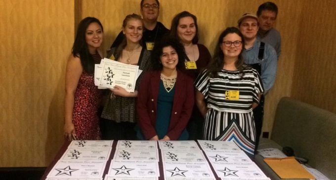 North Texas Daily staff recognized for excellence at Texas Intercollegiate Press Association conference