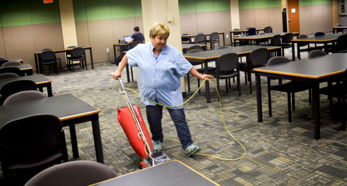 A custodian's life: Working behind the scenes, sometimes at a cost
