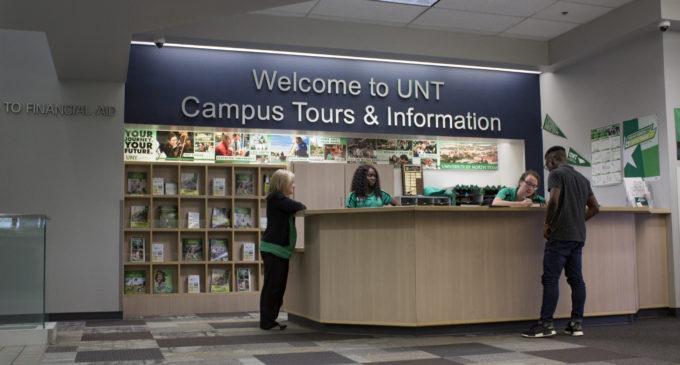 Poll finds more than half of students toured campus before coming to UNT
