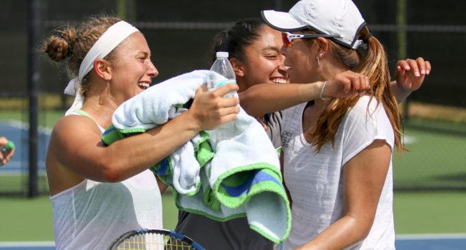 Kononova, Kutubidze lead tennis to strong weekend showing