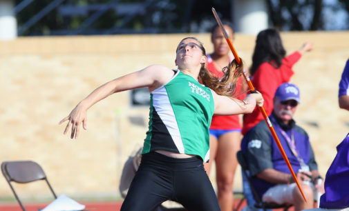 Freshman Kristyn Archuleta shattering records with North Texas track
