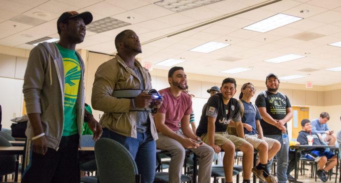 UNT students square off in intramural FIFA tournament