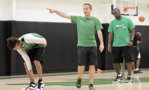 Head coach Grant McCasland rebuilds men's basketball program by targeting recruits