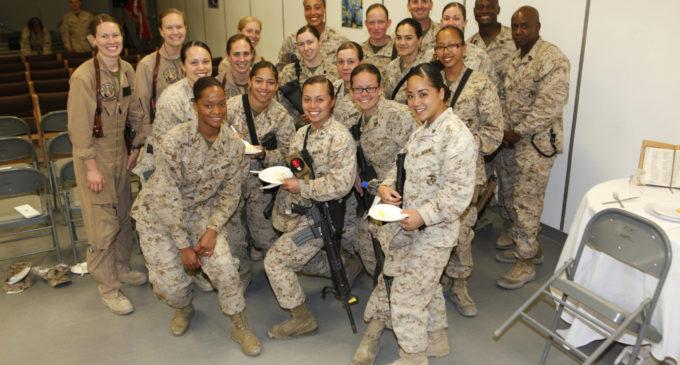 nude-woman-marines