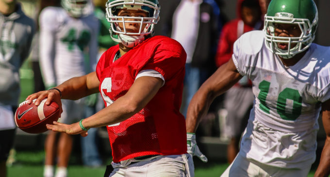 North Texas yet to name starting QB as position battle heats up