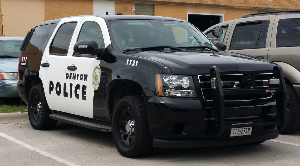 Knife-wielding man shot and killed by Denton police officer