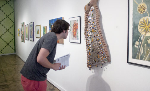 Art exhibit created by Visual Art Society of Texas opens at UNT on the Square