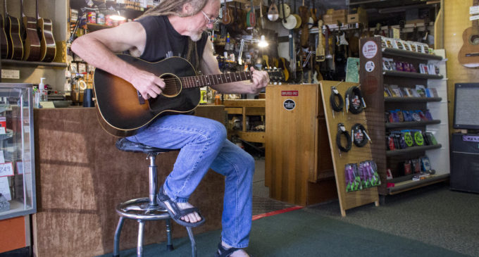Inside the life of a local guitar craftsman